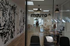 Visiting Muuto Office