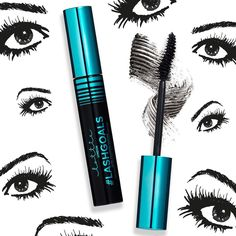 Bat those lashes with our ultra-volumising masacara!  Lashgoals has a unique curved wand that will coat EVERY lash & an intense black formula to maximise the drama!  Buy @superdrugloves for 6.96