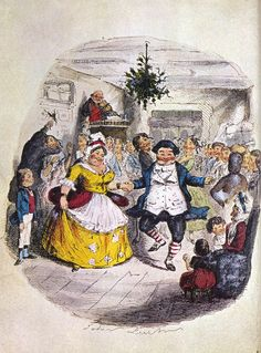Illustration by John Leech from Charle's Dicken's A Christmas Carol