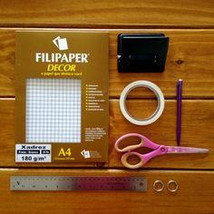Como fazer um scrapbook