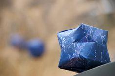Poppytalk: Weekend Project: Origami Ornament