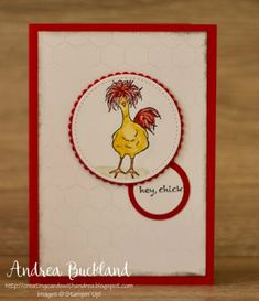 Creating Cards with Andrea: Watercolour Pencils and new Occasions and Sale-a-bration projects