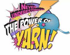 The power of yarn!