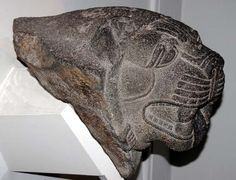 British Museum (Apr-2005) 195   Basalt lion heads Neo-Hittite, 9th century BC From Carchemish