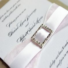 Cool 9+ Elegant Wedding Invitations With Crystals