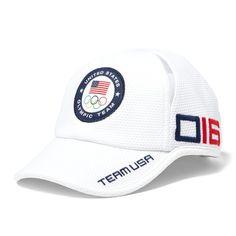 e6042b95e1076 Team USA Polo Ralph Lauren 2016 Olympics Cross Court Adjustable Hat - White