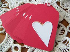 Valentine Gift Tag Goody Bag Favor Label Set by EllieMarieDesigns, $4.00