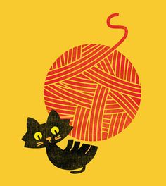 Poster | FITZ - HAPPINESS (CAT AN von Budi Kwan | more posters at http://moreposter.de
