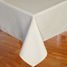 Eforcurtain Heavy Duty Plain Oblong Table Cover Polyester Waffle Tablecloth Stain Resistant /Spill-proof /Waterproof for Parties, Beige, 60-inch By 120-inch *** Hurry! Check out this great sales : Christmas Home Decor