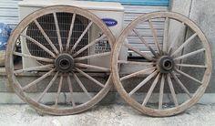 빈티지 마차바퀴(판