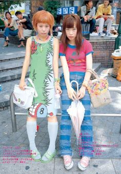 Yôyô and Yûki, both 17y/o and high school student