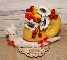 Осенняя Улитка Тильда Gingerbread, Cake, Desserts, Food, Tailgate Desserts, Deserts, Ginger Beard, Kuchen, Essen