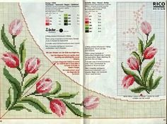 Photos tagged with Cross Stitch Embroidery, Hand Embroidery, Cross Stitch Patterns, Rico Design, Cross Stitch Flowers, Fabric Painting, Needle And Thread, Pixel Art, Needlework