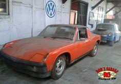 VW Porsche 914 Trabi Trabant P50 P60 vintage oldschool Oldtimer Patina Scheunenfund Barn find  car