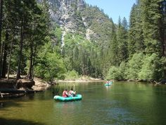 Rafting in Yosemite National Park- where to rent