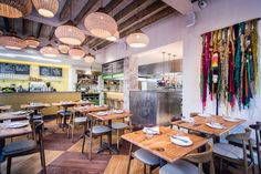 From the founders of Soho's Ceviche – Martin Morales and head chef Tomasz Baranski – a healthy new Peruvian restaurant comes to East London… Restaurant Design, Restaurant Bar, Best Brunch Places, Peruvian Restaurant, Bar Design Awards, Pisco Sour, London Places, Wallpaper Magazine, Tents