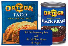Ortega Products as low as $0.09 at Meijer! BecomeACouponQueen.com