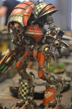 KNIGHT COMBAT IN THE TRUGOY THEATRE - Imgur Warhammer 40k Necrons, Warhammer 40k Figures, Warhammer Models, Warhammer 40k Miniatures, Imperial Knight, Imperial Fist, Knight Models, War Hammer, Inspirational Artwork