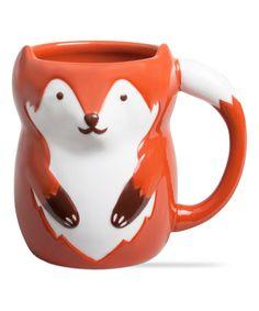 Look what I found on #zulily! Brick Franny Fox Mug by tag #zulilyfinds