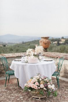 Tuscany Wedding: A Romantic Pre-Wedding Ceremony - MODwedding