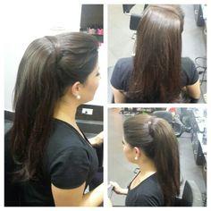 #hair #cabello #upDo #peinado #cola #ponyTail #hairdresser #hairstylist #estilista #peluquero #Panama #pty #axel #axel04 #picoftheday