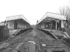 Old Train Station, Disused Stations, Abandoned Train, Nottingham, Axe, Britain, Diesel, Brick, Electric