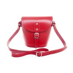 Schultertasche Rot, £36, now featured on Fab.