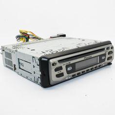 Pioneer DEH-1700R car cd player head unit  4 X 45W CD-R and CD-RW bass booster #Pioneer