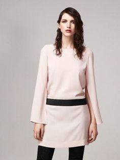 Robe rose poudré de Sinéquanone