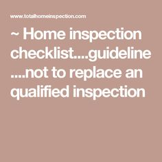 Free Home Inspection Forms Buying A House Homeowner  Home