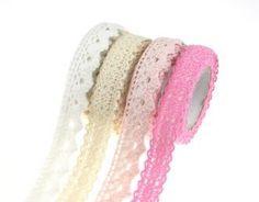 Fabric Lace zakka Tape - Small   £3.95   Buy @ Something Kawaii UK