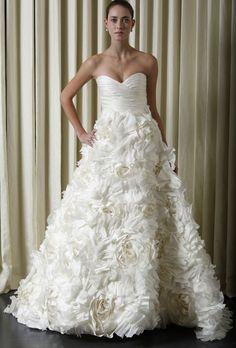Brides: Monique Lhuillier - Spring 2010