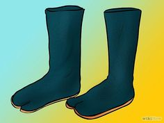 How to make Ninja's tabi boots