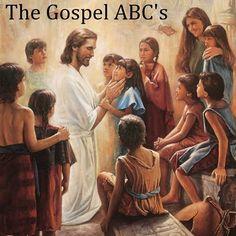 Gospel ABC Quiet Book (Title Page)