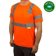 50d13e9b9d9e Class 3 High Vis Reflective Short Sleeve Safety Shirt - 9081