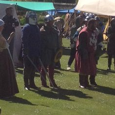 Event day at Dirleton Castle