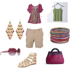 Summer Comfort, created by byzrmylf on Polyvore