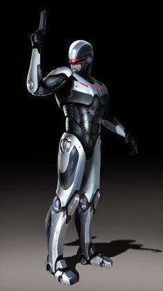 The Daily Zombies: RoboCop Redesigned? โรโบคอพดีไซน์ใหม่?? สวยเนอะ อย่างกับไอรอนแมนเลย (ถ้าไปดูในลิงค์ก็ทราบว่ามันได้แรงบันดาลใจจาก Iron Man + Metal Gear Solid นั่นเอง)