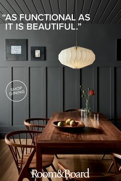 Room & Board - Orikata Modern Saucer Pendants - Modern Dining and Kitchen Lighting - Modern Dining Room & Kitchen Furniture Farmhouse Style Kitchen, Modern Farmhouse Kitchens, Kitchen Modern, Modern Room, Dining Room Walls, Dining Room Design, Living Room, Dining Room Feature Wall, Kitchen Design