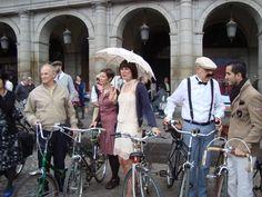 Tweed Riders en Plaza Mayor