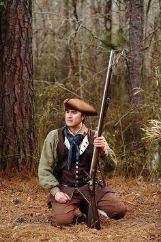 Reenactor Portraits:  234th Anniversary of the Battle of Moores Creek Bridge, Revolutionary War - Moores Creek National Battleground. Portraits of Reenactors. Joh...