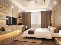 Interior bedroom design on Behance
