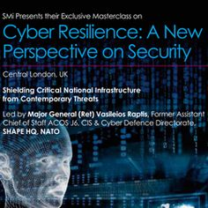#Cybersecurity masterclass, Cyber Resilience: A New Perspective on Security, 14th March 2016, London, United Kingdom http://www.cybersecuritymarket.com/?p=697