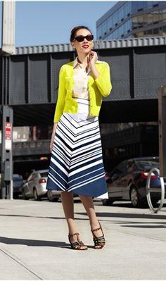 """Shabby Apple """"Crosswalk Skirt"""""""