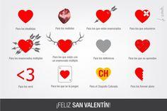12copciones san Valentín