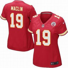 Women Nike Kansas City Chiefs #19 Jeremy Maclin red Game Jersey $ 22.5