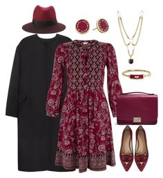 """""""Untitled #68"""" by amarathenista ❤ liked on Polyvore featuring Charlotte Olympia, rag & bone, Non, Monsoon, Lauren Merkin, Marc by Marc Jacobs and Charlotte Russe"""