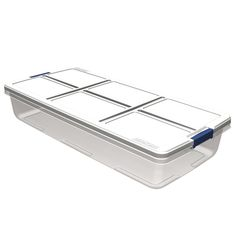 Hefty 52-Quart Underbed Tote with Latching Lid