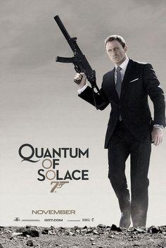 2008 - Quantum of Solace met Daniel Craig