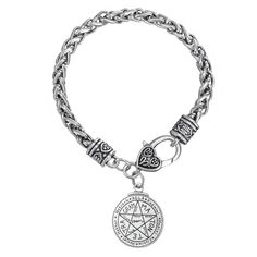 Find More Chain & Link Bracelets Information about Talisman For Love Tetragrammaton Seal of Solomon Pentacle Pendant Enochian Kabbalah Pagan Wiccan Jewelry Carter Bracelet Female,High Quality jewelry tooth,China jewelry diy Suppliers, Cheap jewelry taiwan from Talisman Jewelry Factory on Aliexpress.com